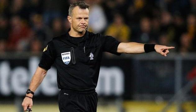 Голландец Кейперс назначен арбитром финала Евро-2020