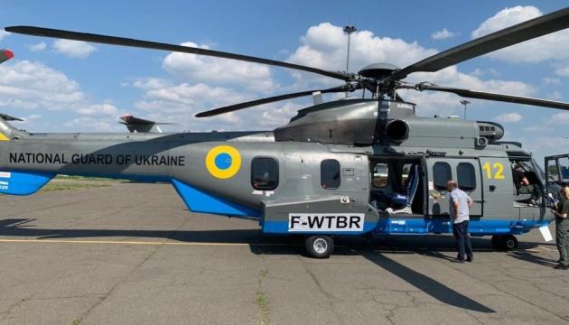 Авіація МВС отримала вже п'ятий цьогоріч гелікоптер Airbus