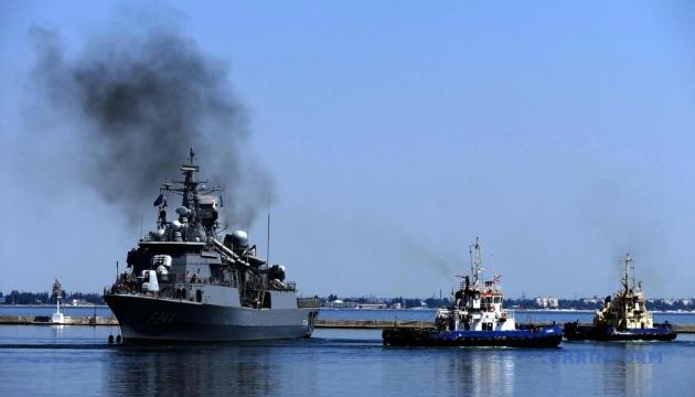 Sea Breeze-2021: кораблі НАТО покидають порт Одеси