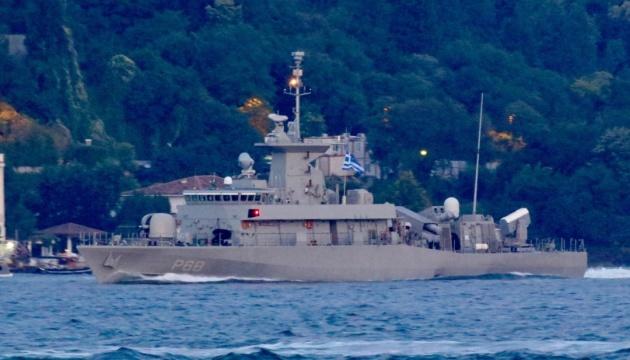 Корабель «Daniolos» ВМС Греції увійшов до Чорного моря