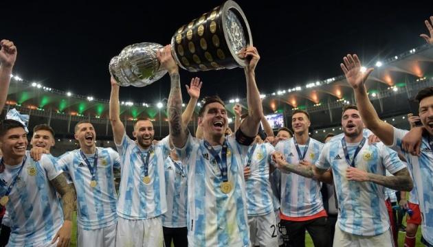 Збірна Аргентини перемогла Бразилію і виграла Кубок Америки з футболу