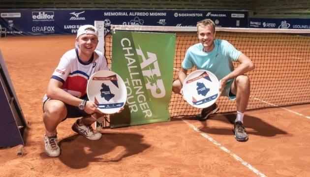 Украинец Сачко выиграл парный титул турнира ATP в Перудже