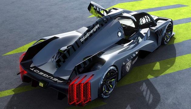 Peugeot представив новітній гібридний гіперкар 9X8