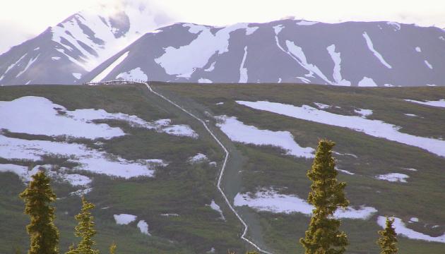 Нафтопроводу на Алясці загрожує танення вічної мерзлоти