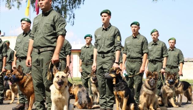 Прикордонні собаки вперше візьмуть участь у параді до Дня Незалежності