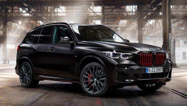 Всего 350 экземпляров черного цвета: BMW представила спецверсию X5