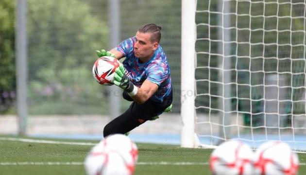 Украинский вратарь Лунин сыграл за «Реал» в матче с «Фуэнлабрадой»
