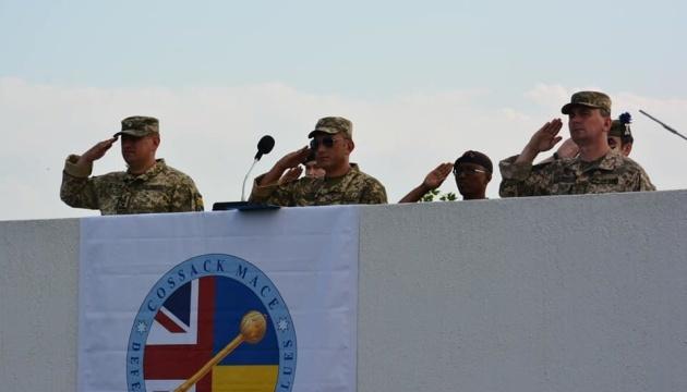 El ejercicio Cossack Mace comienza en Ucrania