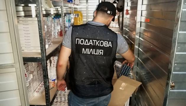 У Києві ДФС провела 10 обшуків у торговців фальсифікованими цигарками