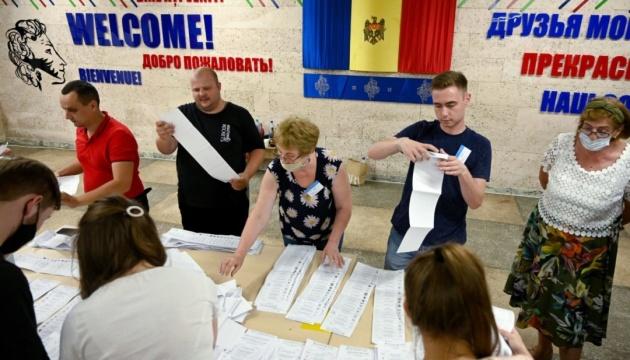 В Молдове объявили результаты внеочередных парламентских выборов