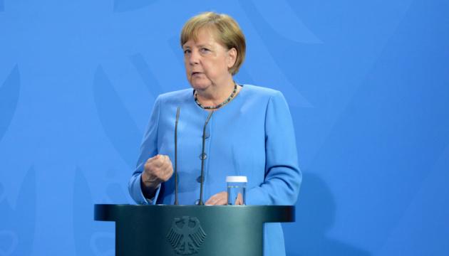 Merkel sees U.S.-Germany deal on Nord Stream 2 as good for Ukraine