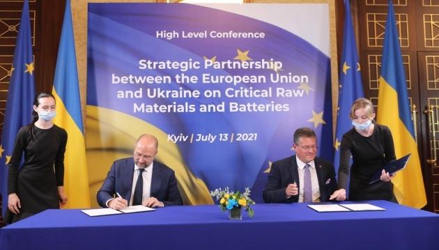 Виробництво акумуляторів: Україна та ЄС домовилися про промислове партнерство