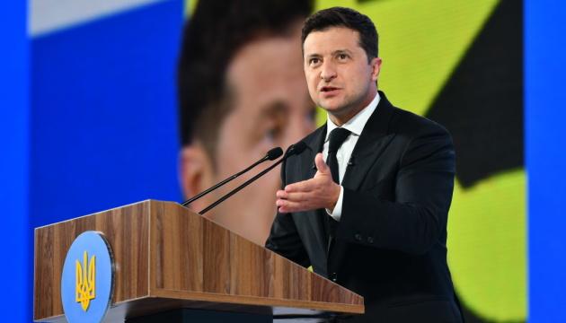 Зеленский пообещал к 90-й годовщине Голодомора достроить мемориал на склонах Днепра