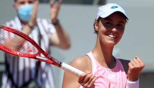 Украиннка Калинина сыграет матч второго круга турнира 250 в Будапеште