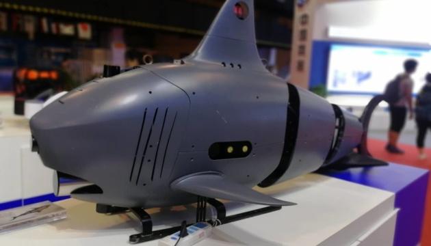 В Китае разработали дрон-акулу для подводной разведки