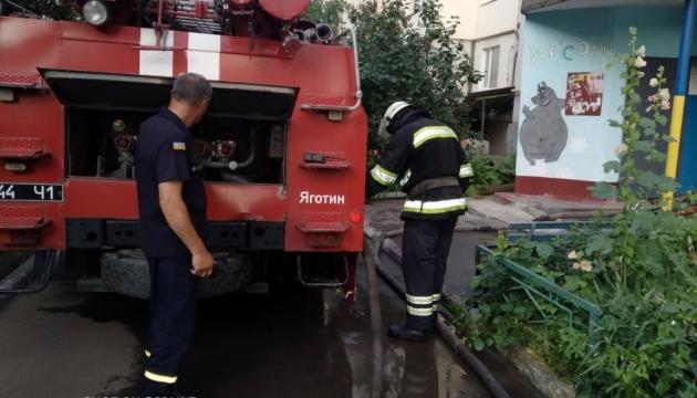 У Яготині на Київщині горіла п'ятиповерхівка, двоє загиблих