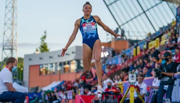 Украинка Бех-Романчук выиграла этап Бриллиантовой лиги в прыжках в длину