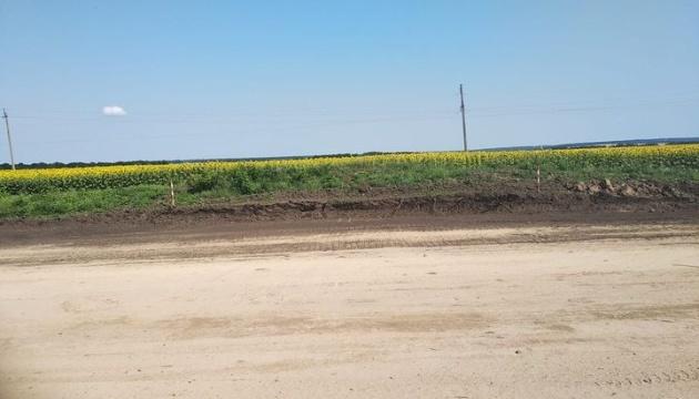 Во время ремонта дороги строители уничтожили скифский курган в Черкасской области