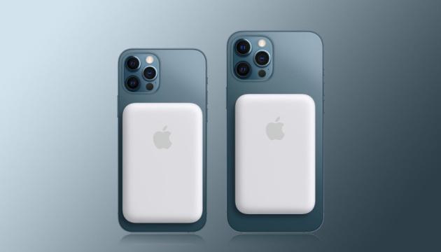 Apple випустила магнітний акумулятор для всіх видів iPhone 12
