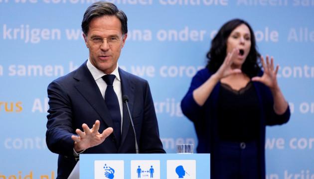 Вірус знову окупував Нідерланди, прем'єр змушений просити вибачення