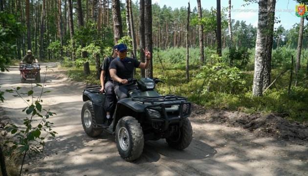 На Житомирщині для ветеранів АТО/ООС розробляють турмаршрути на квадроциклах