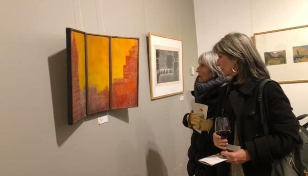 La Embajada de Ucrania en Chile invita a una exposición virtual de obras de Dinora Doudtchitzky