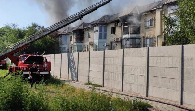 Пожар в Мелитополе: мэр подтвердил, что сгорела его квартира