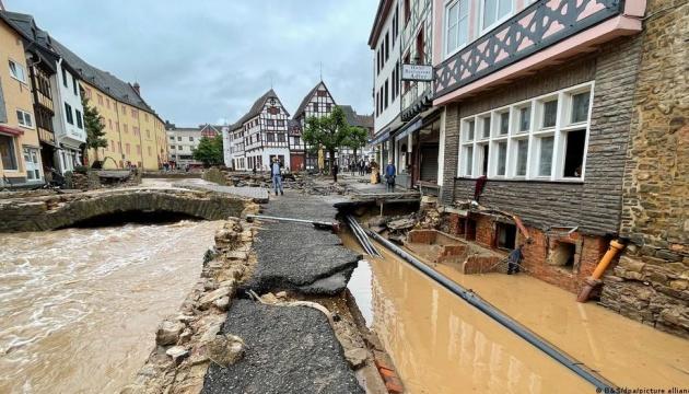 Німеччина надасть €400 мільйонів невідкладної допомоги постраждалим від повені