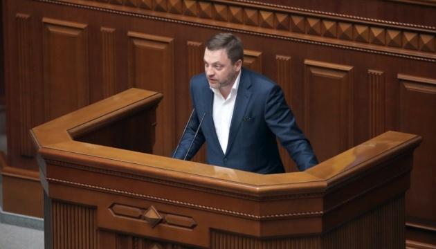 Корнієнко прогнозує 226 голосів від «слуг» за призначення Монастирського