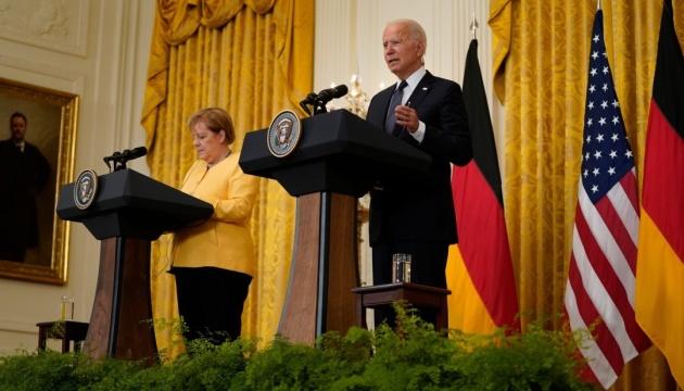 Меркель у Вашингтоні: Nord Stream 2 залишився без рішень