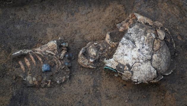У заповіднику на Полтавщині розкопали дитяче поховання ІV століття до н.е.