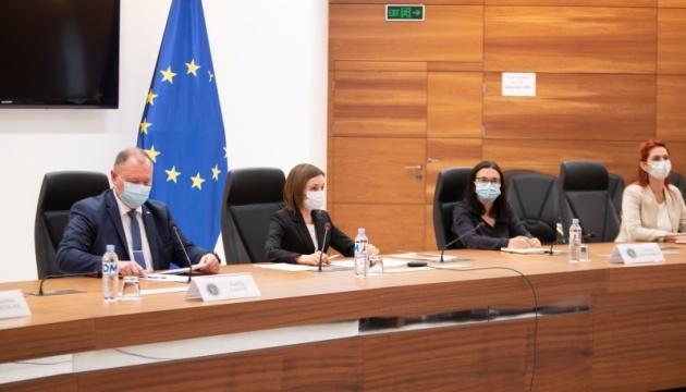 Президент Молдовы назвала Украину одним из приоритетов во внешней политике