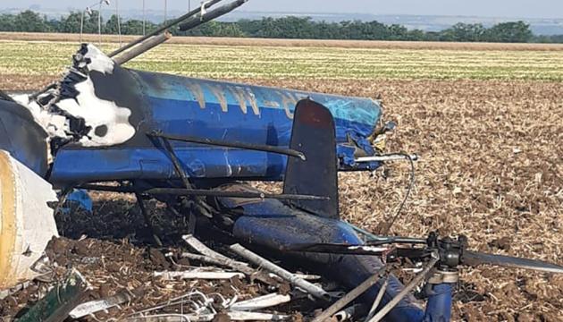На Миколаївщині розбився вертоліт, є загиблі