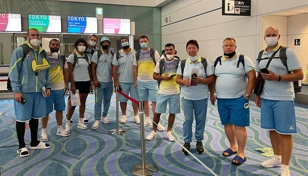 Олимпийцы Украины прибыли в Токио