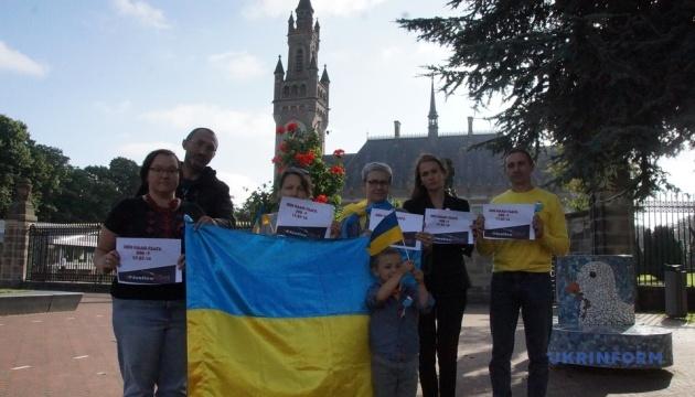 Українці в Нідерландах закликають РФ визнати свою відповідальність за збиття МН17