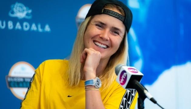 Світоліна: Моя мета - олімпійська медаль, пишаюся, що граю за Україну