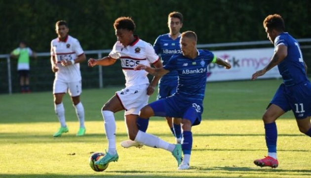 «Динамо» проиграло «Ницце» на сборе в Швейцарии