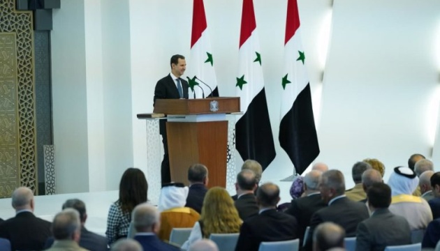 Башар Асад принес президентскую присягу