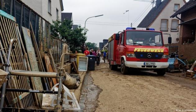 Кількість загиблих унаслідок повені на заході Німеччини сягнула 156