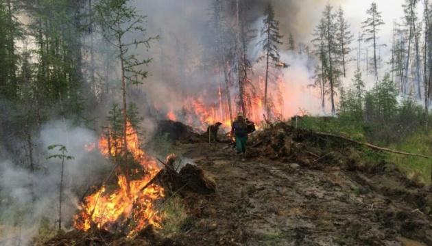 Дым от лесных пожаров остановил авиасообщение и судоходство в регионе РФ