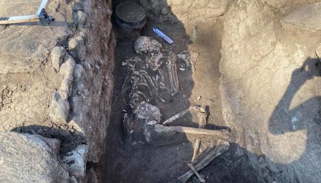 Археологи знайшли на Донеччині два поховання зрубної культури
