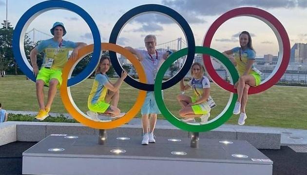 Бадминтонисты, гимнасты и стрелки Украины прибыли в Токио на летнюю Олимпиаду