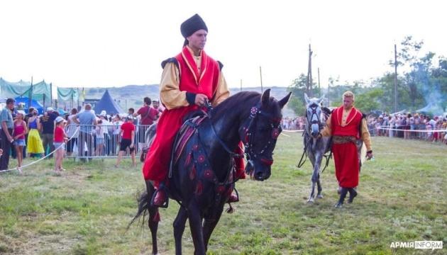 На Донеччині за участю військових пройшов фестиваль історичних реконструкцій
