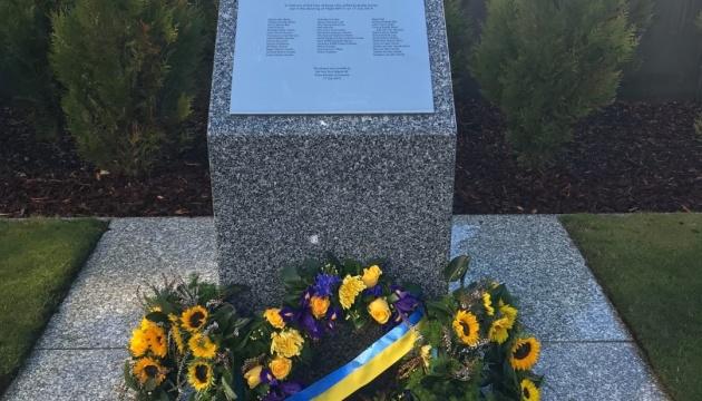 Українська діаспора та посольство вшанували пам'ять жертв катастрофи МН-17 у столиці Австралії