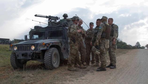 В Україні стартували багатонаціональні військові навчання «Три мечі-2021»