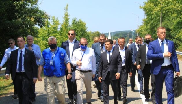 Volodymyr Zelensky s'est rendu en Géorgie pour participer à la Conférence internationale de Batoumi