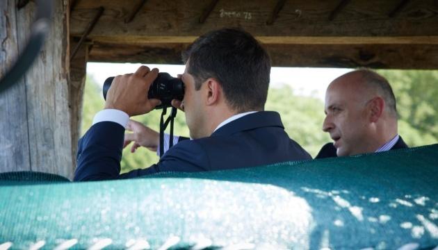 ゼレンシキー大統領、ジョージアにて被占領下アブハジアとの境界線状況を視察