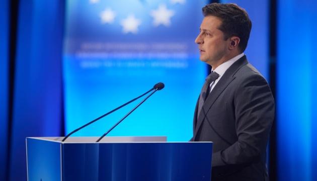 Зеленский в Батуми напомнил об амбициозном повестку дня с Евросоюзом