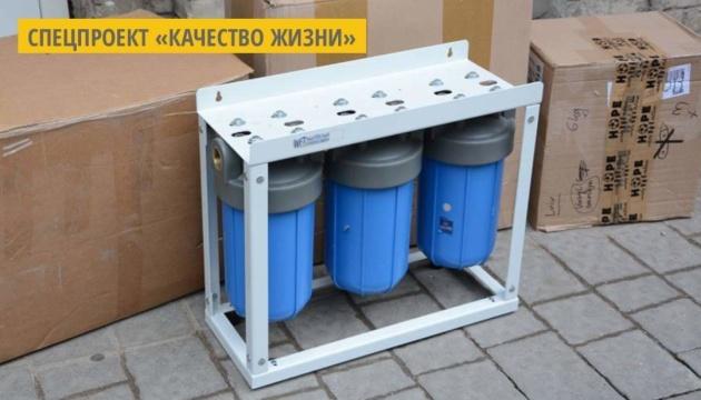 Львовской больнице подарили систему для очистки воды