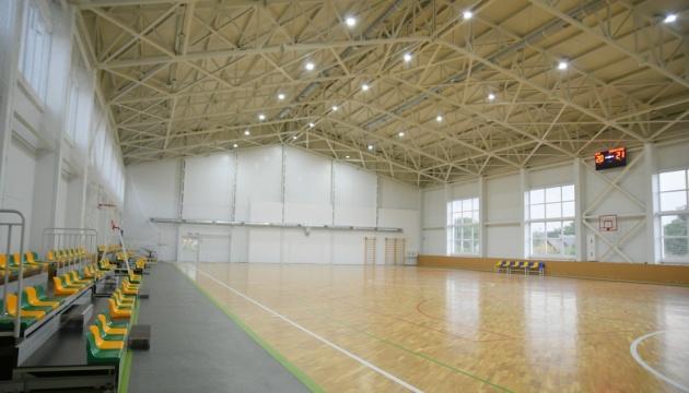 На Ривненщине открыли первую очередь мультифункционального спорткомплекса